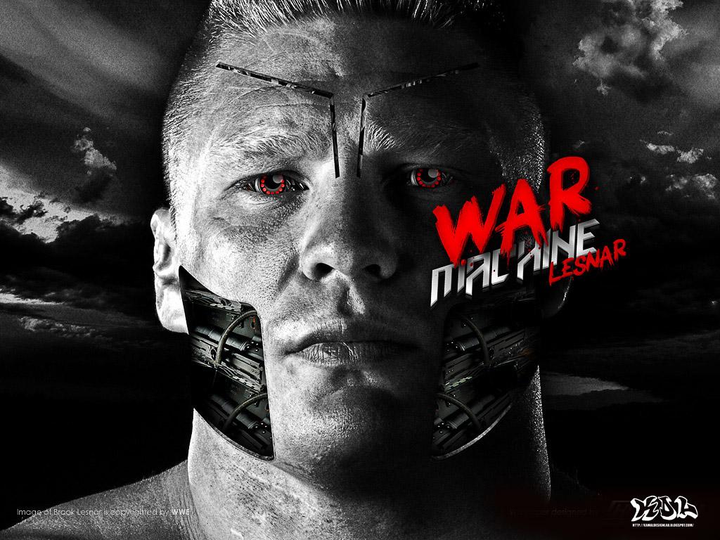 War Machine Brock Lesnar Wallpaper