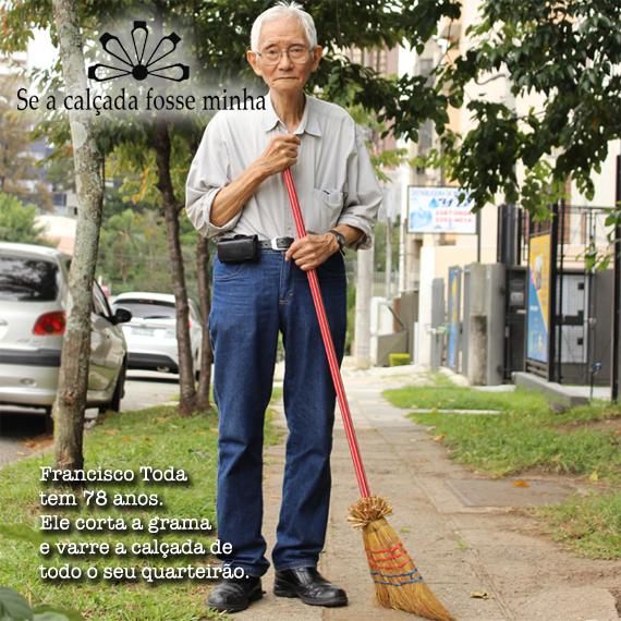 Francisco Toda é um exemplo de cidadania