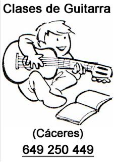 Clases de Guitarra en Cáceres