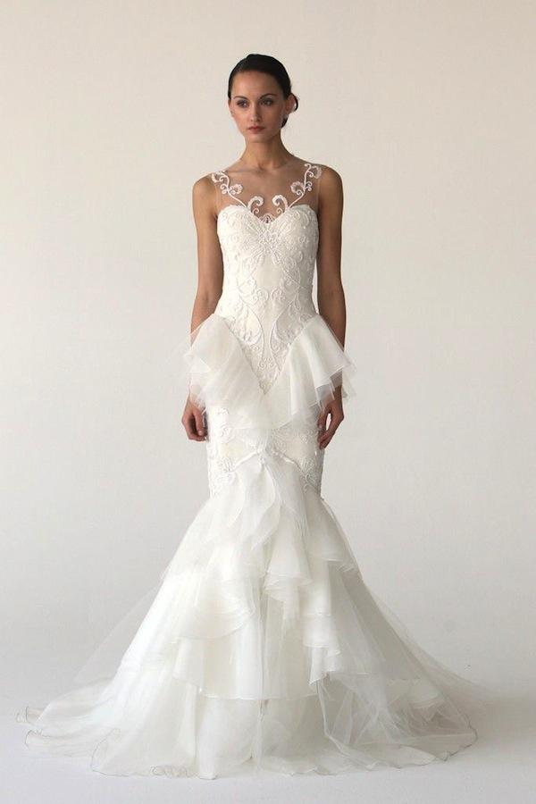 25 pretty perfect peplum wedding dresses aisle perfect for Peplum dresses for wedding guest