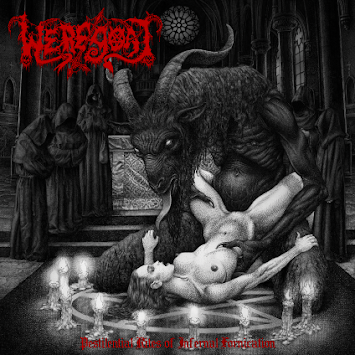 "WEREGOAT - ""PESTILENTIAL RITES OF INFERNAL FORNICATION"""