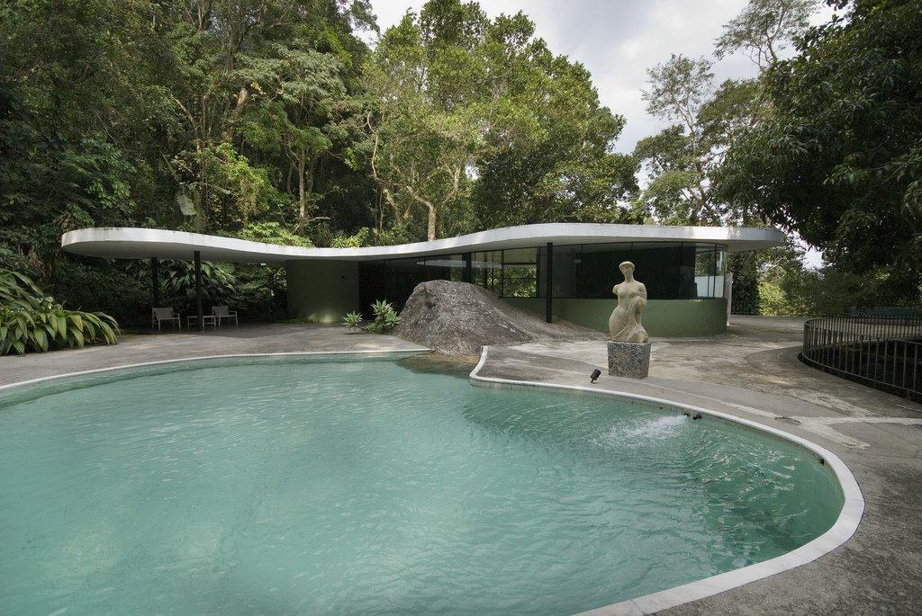 Inicio Y Escape Casa Das Canoas Oscar Niemeyer