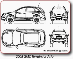 Vector blueprints cars trucks busses and others gmc vector blueprints for sale malvernweather Gallery