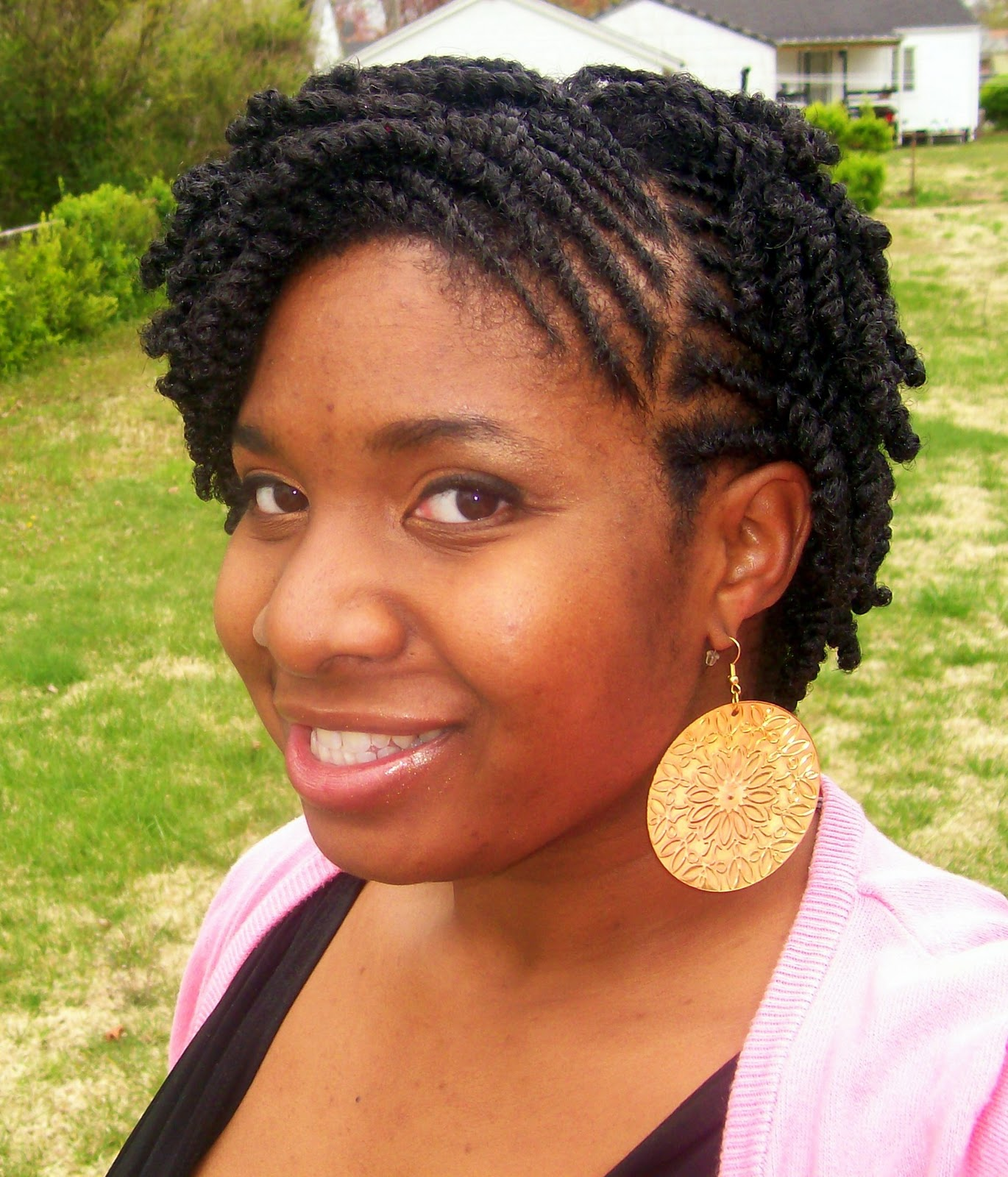 short two strand twist hairstyles by www naturallycurly com