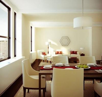 comedor pequeño apartamento