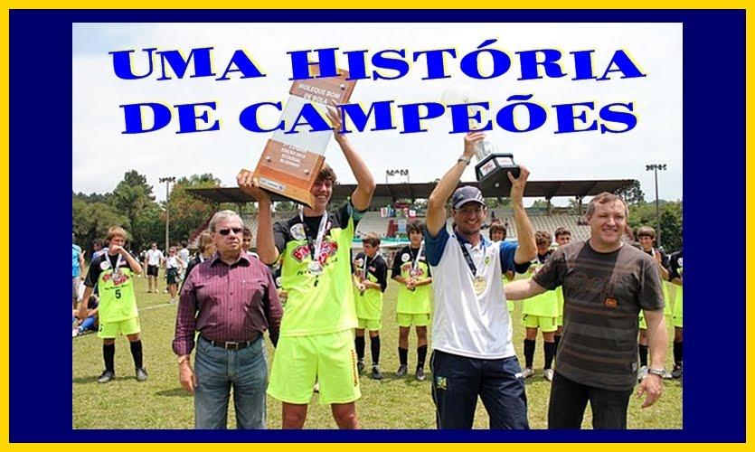 UMA HISTÓRIA DE CAMPEÕES