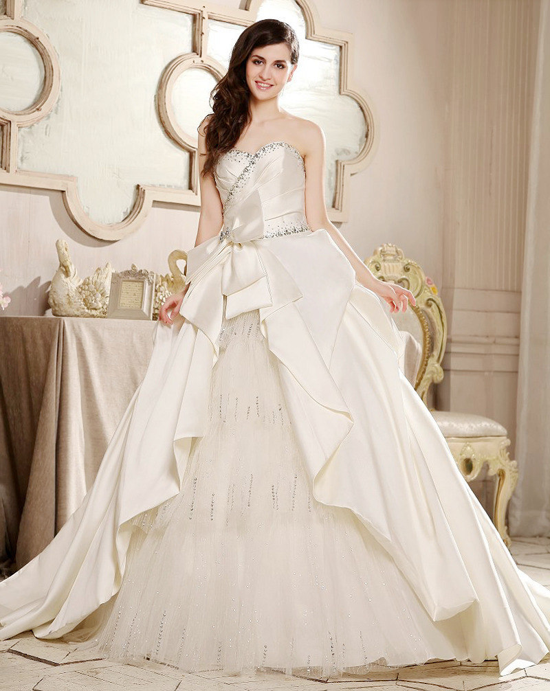 The Concept of Barbie's Wedding Dress Style Montjue