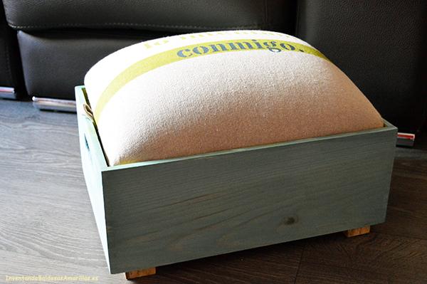 Tapizar una caja hacer bricolaje es - Talleres de tapiceria ...