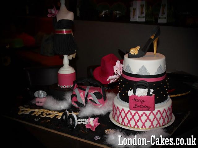 Versace Birthday Cake in London