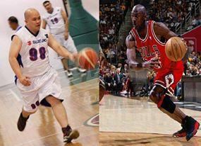 Feeling Michael Jordan 23 NBA