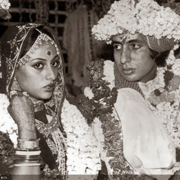 Amitabh and Jaya Bachchan Wedding PicsAmitabh Bachchan Marriage Photos