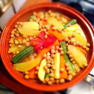 tajine con carne e verdure alla marocchina