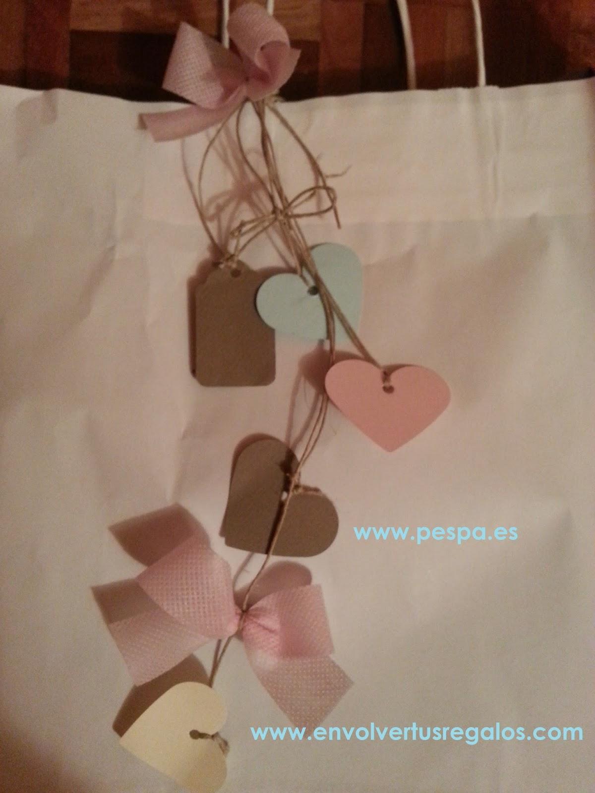 Envolver tus regalos PESPA Decorar bolsas de forma sencilla