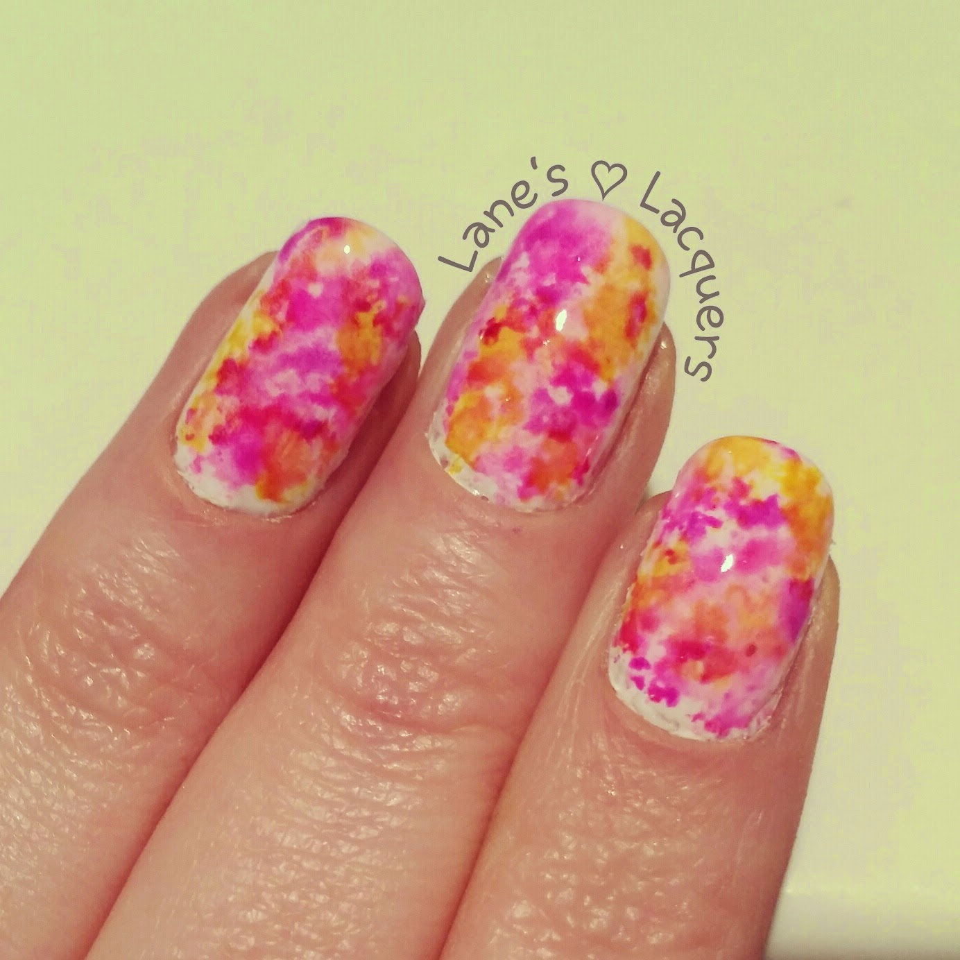 alcohol-ink-pink-purple-yellow-nail-art (3)