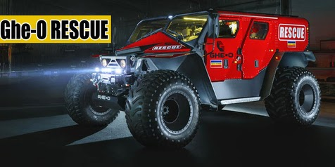 The Most Formidable Car For Rescue Action, Ghe-O Motors