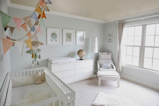 Boho deco chic como decorar un dormitorio de beb de ikea - Ikea habitaciones bebe ...