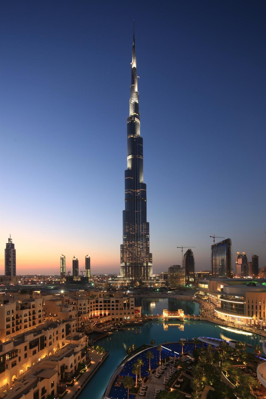 Paisley curtain dubai skyline for Dubai burj khalifa hotel
