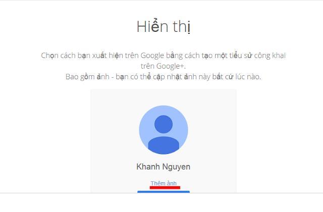 đăng ký Gmail 2014