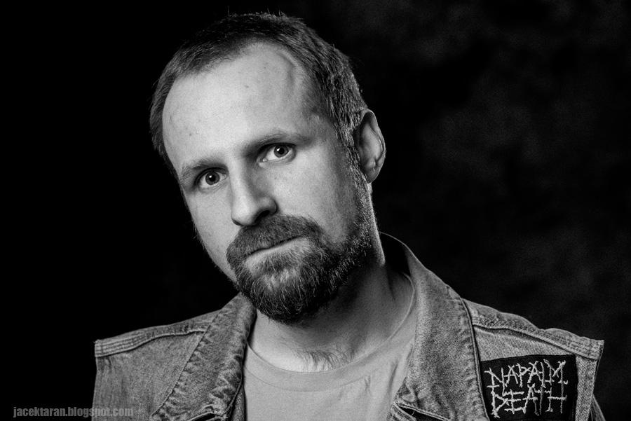 Adam Grzanka, portret, Jacek Taran, fotografia portretowa