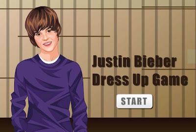 Justin Bieber Dress Up - Game Play Free Online