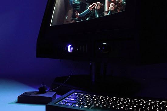 синяя подсветка моноблока R-Kaid Revelation