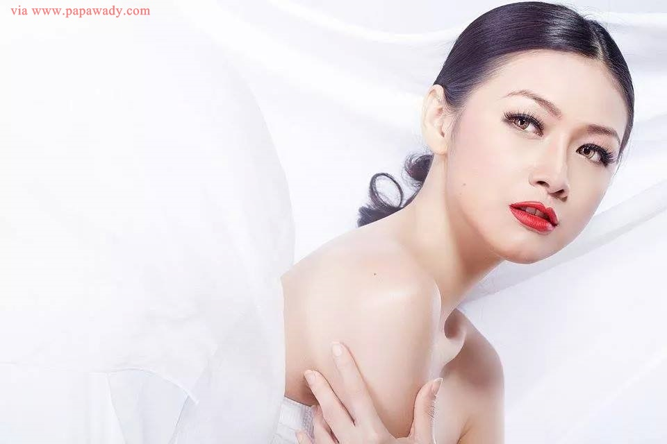 Nwe Darli Tun featured in Beauty Secrets Magazine Cover