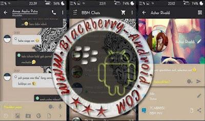 BBM MOD THEMES AKSARA NEW VERSI 2.9.0.0.21 APK