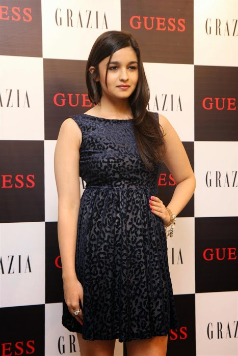 Indian Actress Alia Bhatt Unveils Grazia Magazine Party Special Issue