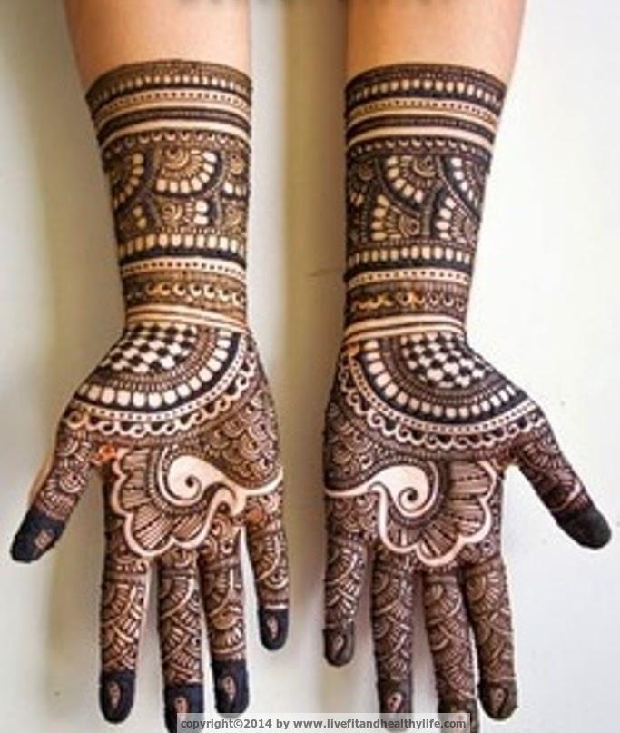 Mehndi Makeup Tips In : Beautiful mehandi designs for full hands health care