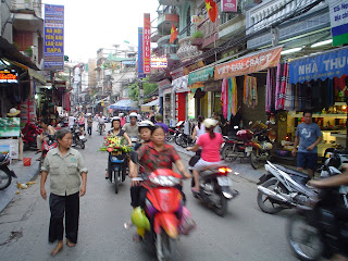 Traffic in Hanoi (Vietnam)