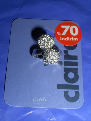claires yüzük ring