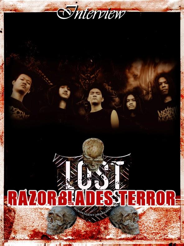 RAZORBLADES TERROR Interview (Indonesia)