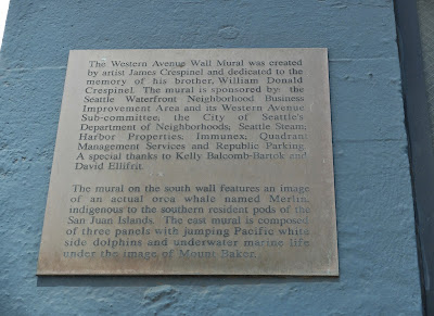 Seattle Steam Plant Mural Information Plaque