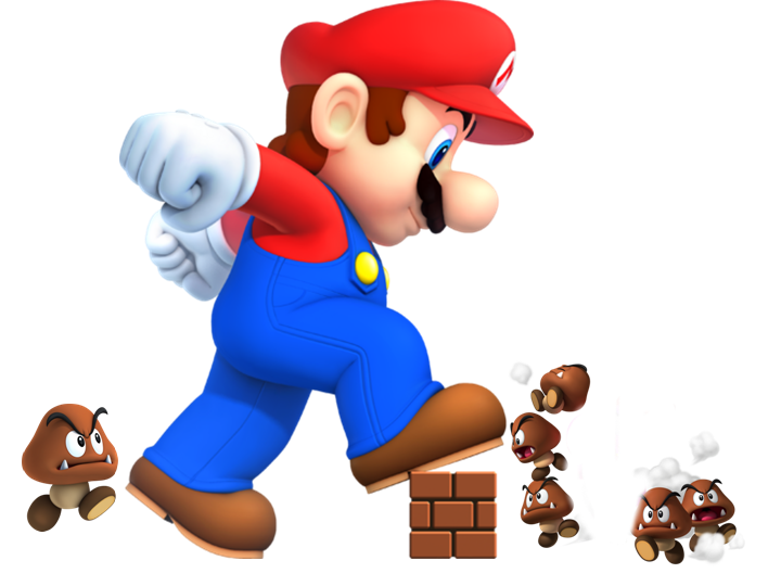 mega mario height