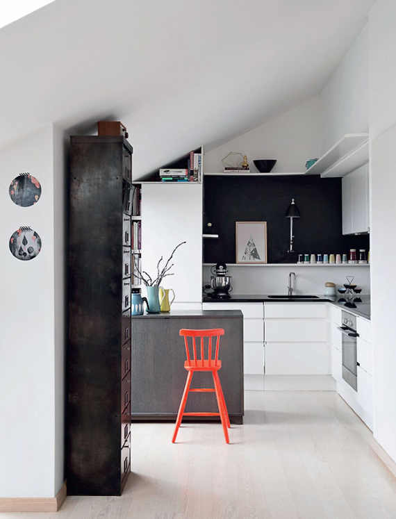 Kitchen of Nynne Rosenvinge via Femina