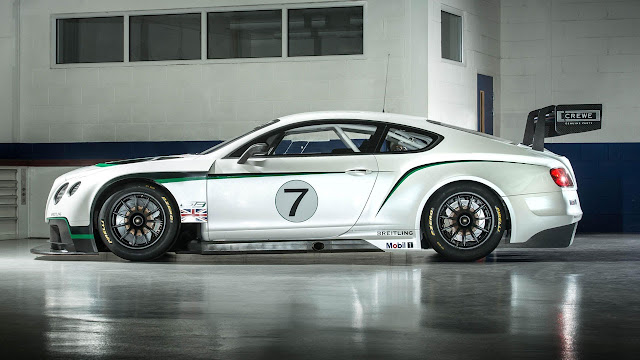 Bentley Continental GT3 side