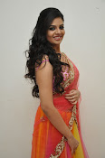 sri mukhi glam pix in half saree-thumbnail-13