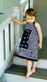 bandana dress halter neck pattern