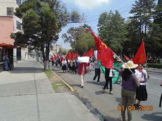 Marcha 1 de Septiembre 2013 Toluca Estado de México