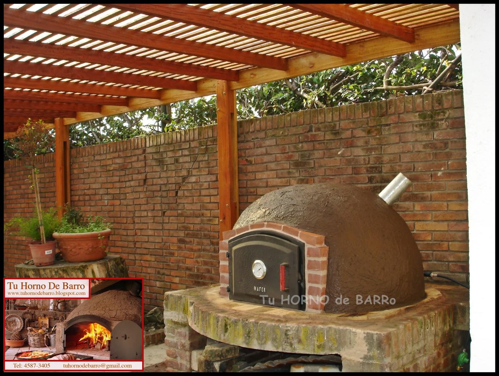 Tu horno de barro hornos de barro argentina buenos for Medidas de hornos de cocina