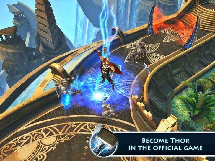 Thor: The Dark World - The Official Game App iTunes App By Gameloft - FreeApps.ws