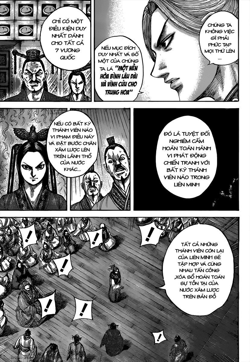 Kingdom – Vương Giả Thiên Hạ chap 490 Trang 12