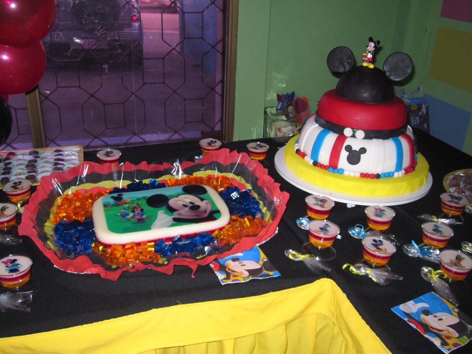Celebraciones Patty: Cumpleaños de Mickey Mouse