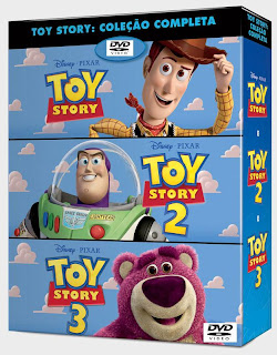 Toy Story – Trilogia (PT-PT) Capa