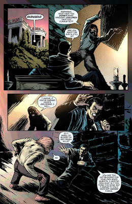 Page 12 of Dark Shadows #8 illustrated by Nacho Tenorio and colored by carlos lopez