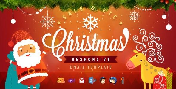 Christmas – Responsive Christmas Email Template