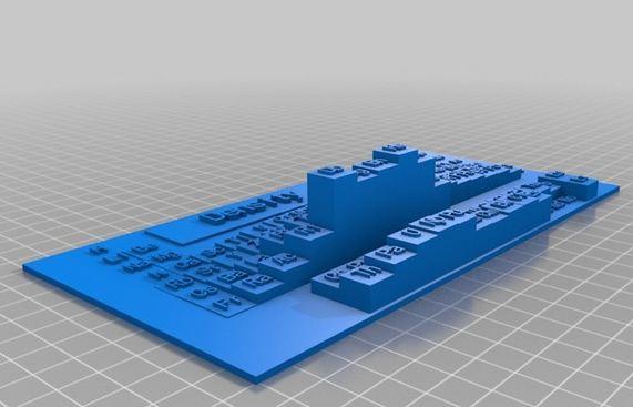 Arte educacin y medios audiovisuales el uso de las impresoras el principal atractivo de usar una impresora 3d en clase de historia es poder construir maquetas de los monumentos histricos o rplicas de utensilios urtaz Gallery