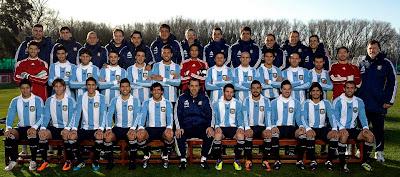 foto oficial seleccion argentina copa america 2011