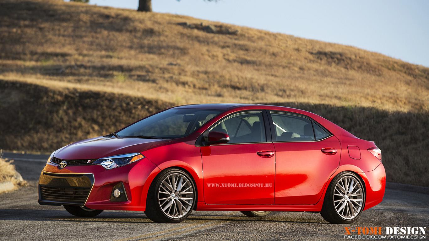 X Tomi Design Toyota Corolla Touring Verso T Sport
