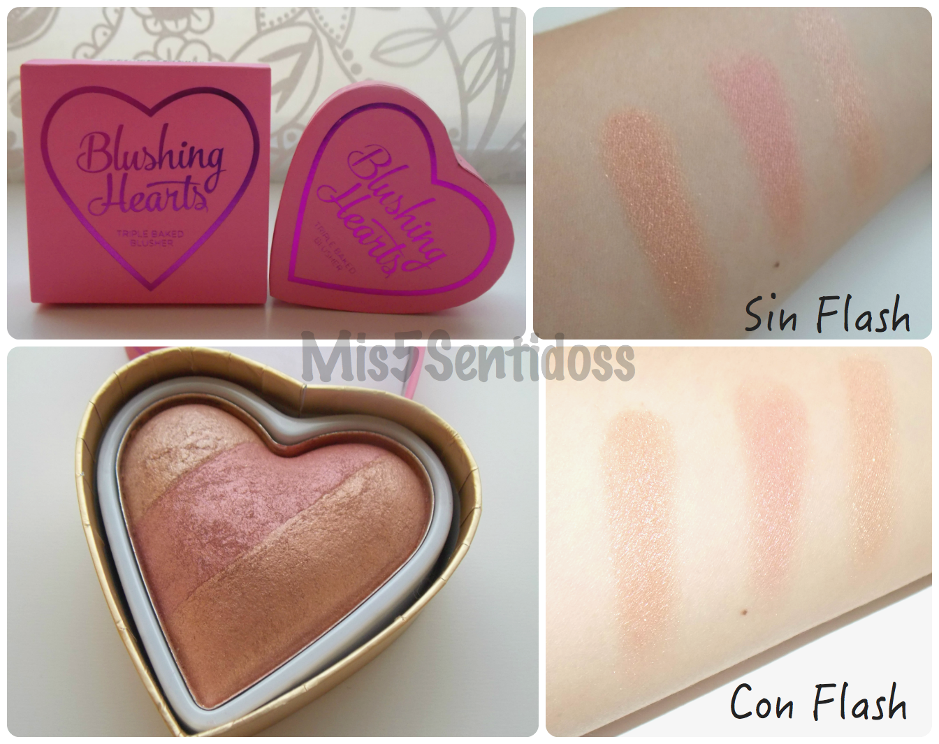 I Heart Makeup Blushing Hearts Peachy Keen Heart